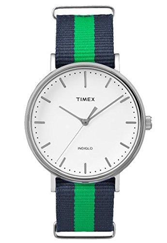 タイメックス 腕時計 メンズ 【送料無料】Timex Weekender Watch TW2P90800 - Fabric Unisex Quartz Analogueタイメックス 腕時計 メンズ