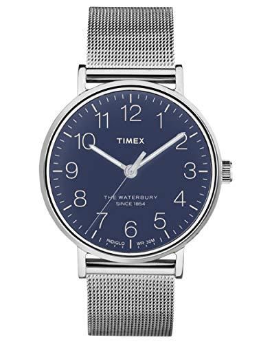 腕時計 タイメックス メンズ 【送料無料】Timex Waterbury Quartz Movement Blue Dial Men's Watch TW2R25900腕時計 タイメックス メンズ