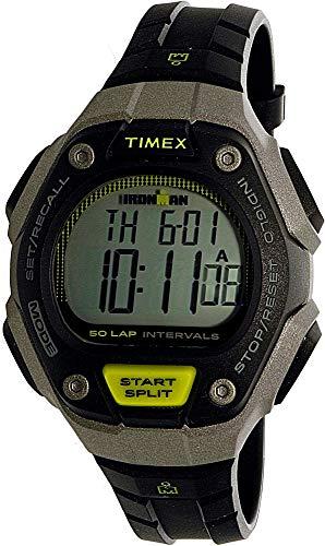 タイメックス 腕時計 メンズ 【送料無料】Timex Ironman Grey Digital Dial Plastic Strap Men's Watch TW5K93200タイメックス 腕時計 メンズ