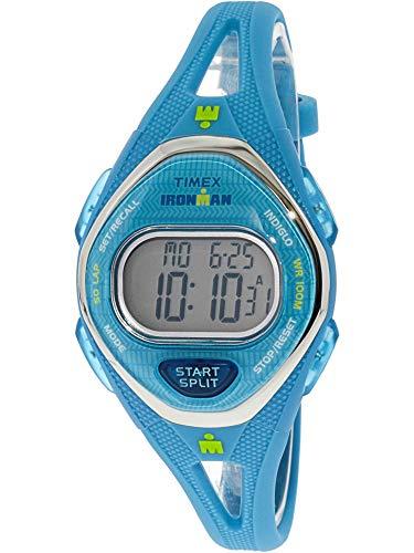 タイメックス 腕時計 レディース 【送料無料】Timex Women's Ironman Sleek TW5M13500 Blue Silicone Quartz Sport Watchタイメックス 腕時計 レディース