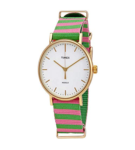 タイメックス 腕時計 レディース 【送料無料】Timex Weekender Fairfield Pink/Green 1 One Sizeタイメックス 腕時計 レディース