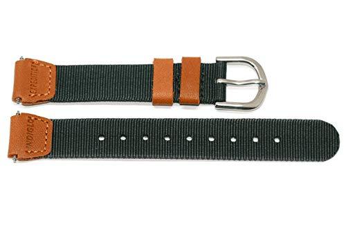 タイメックス 腕時計 レディース TX643051, Timex watchband, Field Expedition, 14mm, brown/greenタイメックス 腕時計 レディース