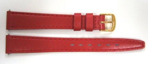 腕時計 タイメックス レディース 【送料無料】Timex 13mm Red Genuine Calf Leather Band腕時計 タイメックス レディース