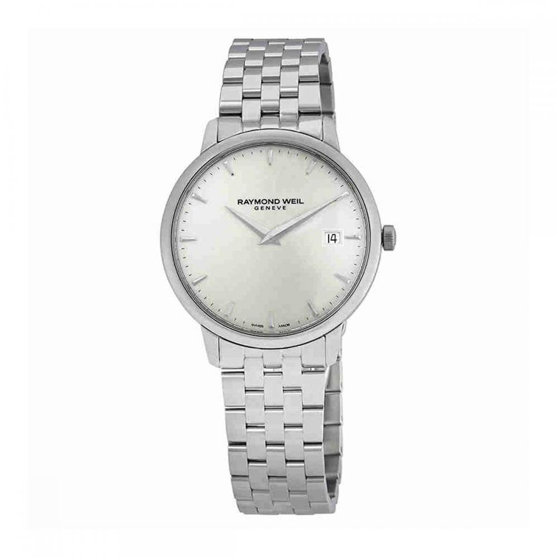 レイモンドウィル 腕時計 メンズ スイスの高級腕時計 Raymond Weil Men's 'Toccata' Quartz Stainless Steel Casual Watch, Color:Silver-Toned (Model: 5588-ST-40001レイモンドウィル 腕時計 メンズ スイスの高級腕時計