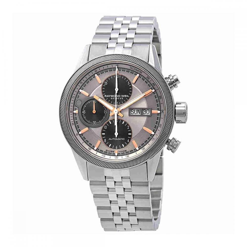 レイモンドウィル 腕時計 メンズ スイスの高級腕時計 Raymond Weil Freelancer Chronograph Automatic Grey Dial Mens Watch 7731-ST2-65655レイモンドウィル 腕時計 メンズ スイスの高級腕時計