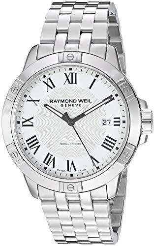レイモンドウィル 腕時計 メンズ スイスの高級腕時計 【送料無料】Raymond Weil Men's 8160-ST-00300 Tango Analog Display Quartz Silver Watchレイモンドウィル 腕時計 メンズ スイスの高級腕時計