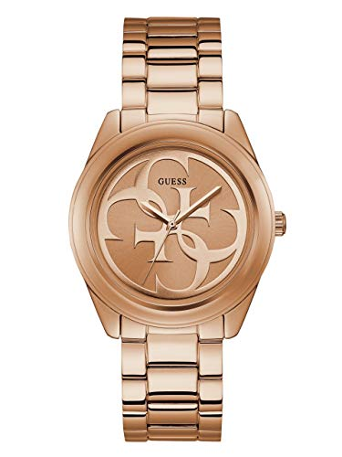 ゲス GUESS 腕時計 レディース GUESS Rose Gold-Tone Stainless Steel Logo Bracelet Watch. Color: Rose-Tone (Model: U1082L3)ゲス GUESS 腕時計 レディース