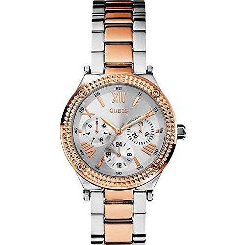 ゲス GUESS 腕時計 レディース GUESS W0331L3 Ladies Multifunction,Silver Dial,Steel Bracelet & Caseゲス GUESS 腕時計 レディース