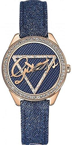 ゲス GUESS 腕時計 レディース GUESS Women's Analogue Quartz Watch with Leather Bracelet ? W0456L6ゲス GUESS 腕時計 レディース