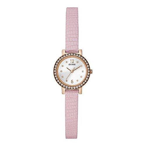 ゲス GUESS 腕時計 レディース Guess Ladies Pink Strap Watch W0735L4ゲス GUESS 腕時計 レディース