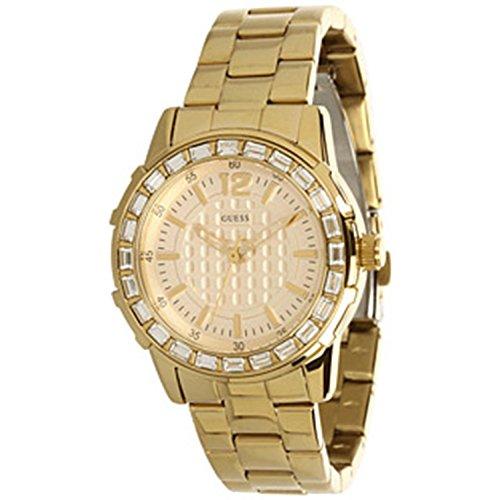 ゲス GUESS 腕時計 レディース Guess Women's U0018L2 Dazzling Sport Petite Gold-Tone Stainless Steel Watchゲス GUESS 腕時計 レディース