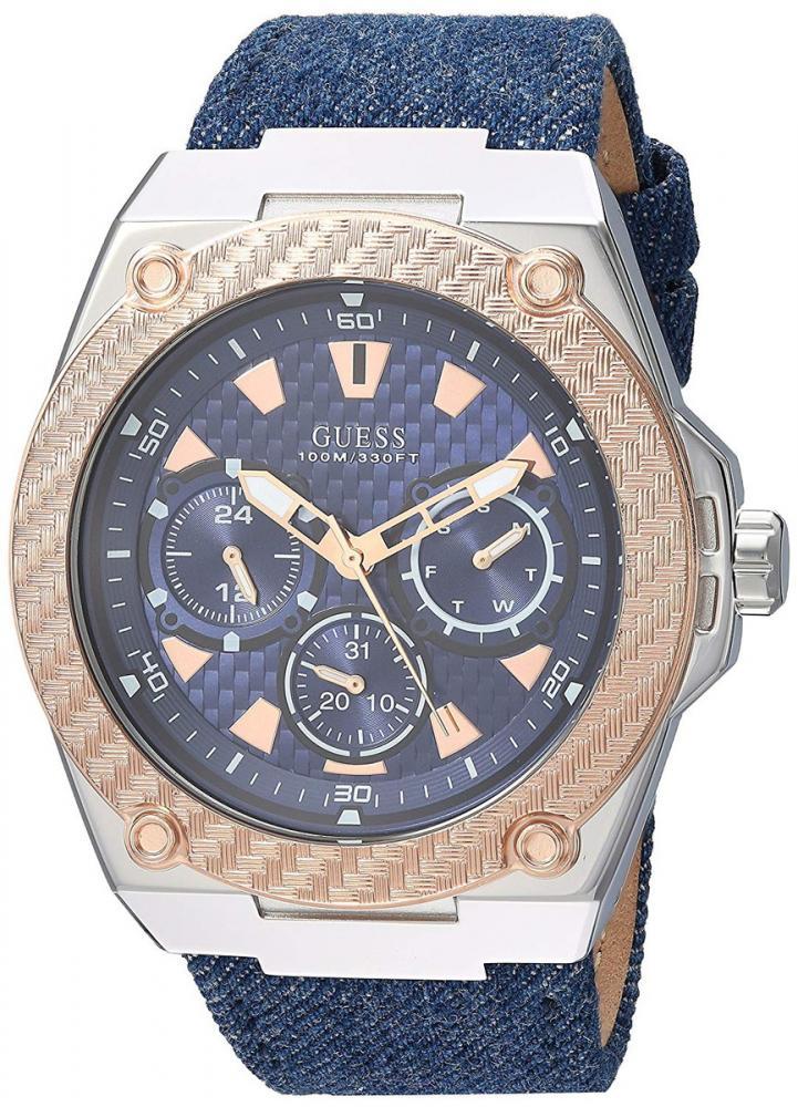 ゲス GUESS 腕時計 メンズ 【送料無料】GUESS Men's U1058G1 Analog Display Japanese Quartz Blue Watchゲス GUESS 腕時計 メンズ