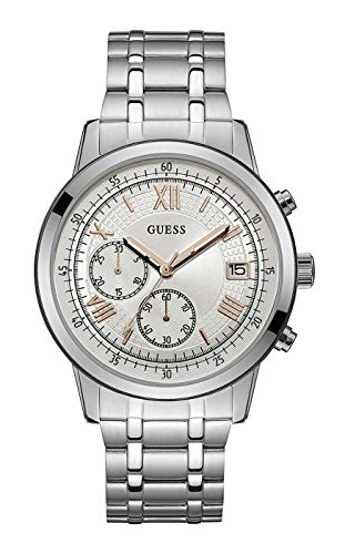 ゲス GUESS 腕時計 メンズ Guess Men's U1001G1 Silver Stainless-Steel Japanese Quartz Fashion Watchゲス GUESS 腕時計 メンズ