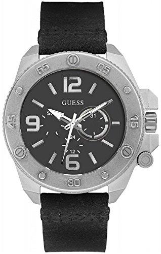 ゲス GUESS 腕時計 メンズ 【送料無料】Guess Multifunction Leather Mens Watch W0659G1ゲス GUESS 腕時計 メンズ