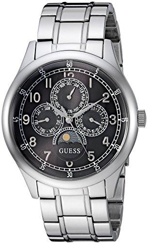 腕時計 ゲス GUESS メンズ 【送料無料】GUESS Men's Japanese-Quartz Watch with Stainless-Steel Strap, Color: Silver-Tone, 19.8 (Model: U1110G1)腕時計 ゲス GUESS メンズ