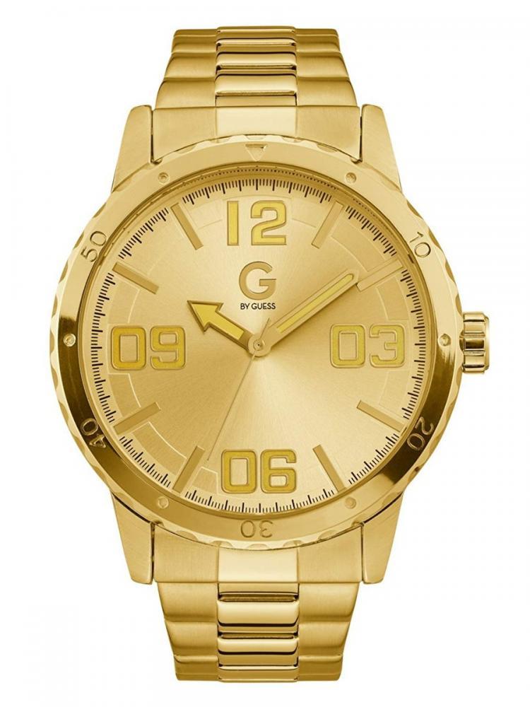 ゲス GUESS 腕時計 メンズ G By Guess Gold-Tone Oversized Watchゲス GUESS 腕時計 メンズ