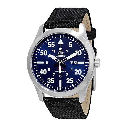 オリエント 腕時計 メンズ 【送料無料】Orient Flight Blue Dial Men's Watch FUNG2005Dオリエント 腕時計 メンズ