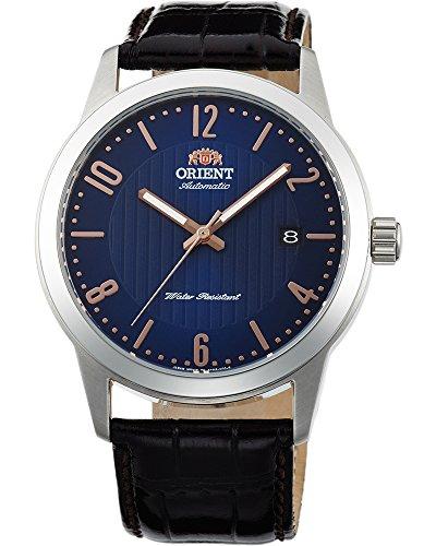 オリエント 腕時計 メンズ 【送料無料】Orient FAC05007D Men's Howard Leather Band Blue Dial Automatic Watchオリエント 腕時計 メンズ