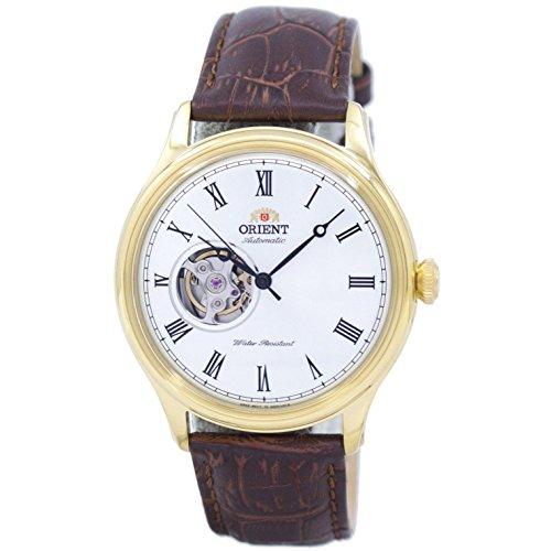 オリエント 腕時計 メンズ Orient Open Heart Automatic White Dial Mens Watch FAG00002W0オリエント 腕時計 メンズ