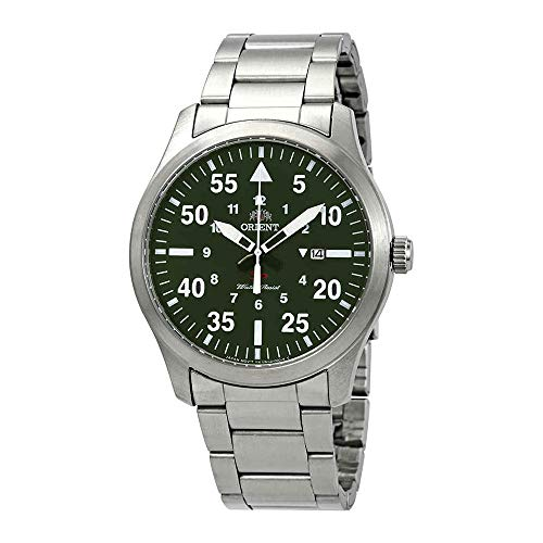 オリエント 腕時計 メンズ 【送料無料】Orient Flight Green Dial Men's Watch FUNG2001Fオリエント 腕時計 メンズ