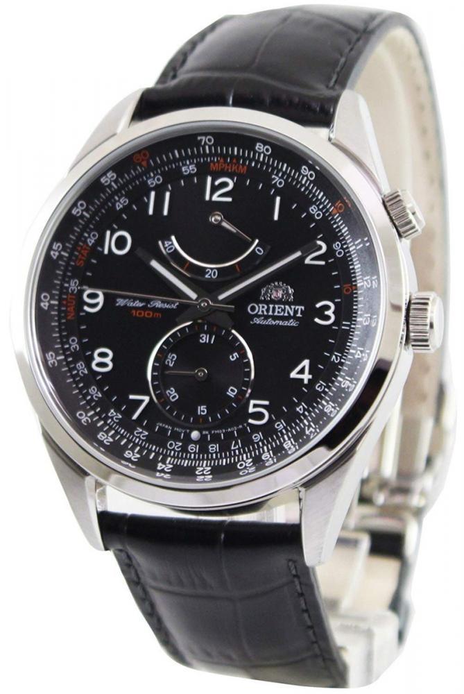 オリエント 腕時計 メンズ Orient Power Reserve Automatic Black Dial Mens Watch FFM03004B0オリエント 腕時計 メンズ
