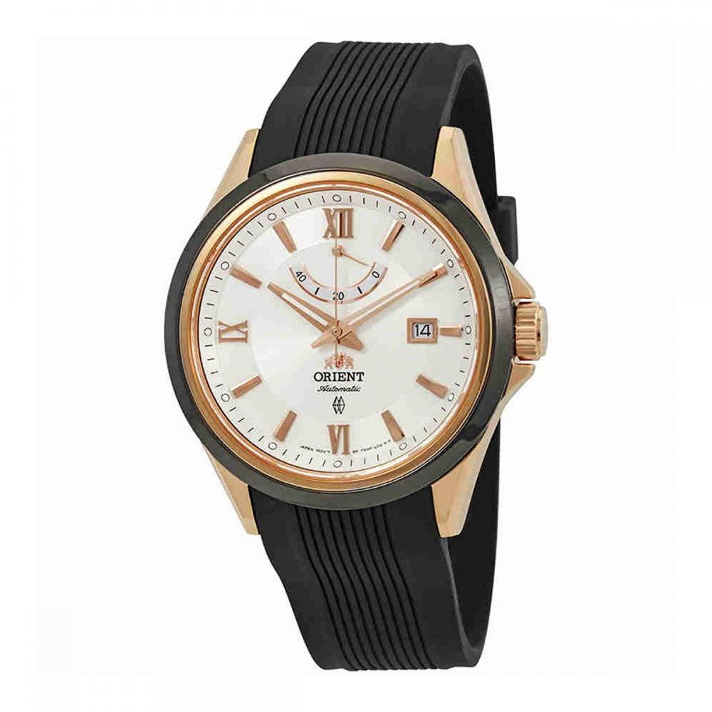腕時計 オリエント メンズ 【送料無料】Orient Sporty Automatic White Dial Men's Watch FFD0K001W腕時計 オリエント メンズ