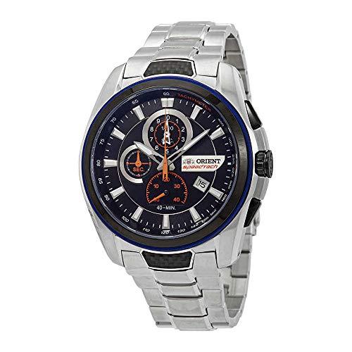 オリエント 腕時計 メンズ 【送料無料】Orient SpeedTech Black Dial Men's Watch STZ00001B0オリエント 腕時計 メンズ