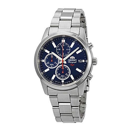 オリエント 腕時計 メンズ 【送料無料】Orient Sporty Blue Dial Men's Watch FKU00002Dオリエント 腕時計 メンズ