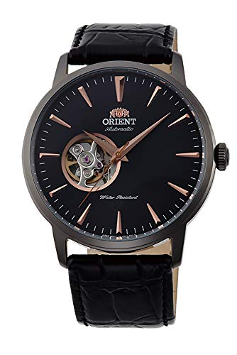 オリエント 腕時計 メンズ Orient Open Heart Automatic Black Dial Mens Watch FAG02001B0オリエント 腕時計 メンズ