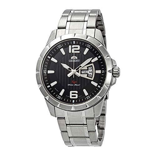 オリエント 腕時計 メンズ 【送料無料】Orient Sport Black Dial Men's Watch FUG1X004Bオリエント 腕時計 メンズ