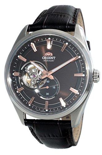 腕時計 オリエント メンズ 【送料無料】ORIENT Classic Mechanical Open Heart Small Seconds Brown Dial Sapphire Watch RA-AR0005Y腕時計 オリエント メンズ
