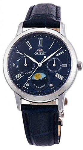 オリエント 腕時計 レディース 【送料無料】Orient Sun and Moon Blue Dial Ladies Watch RA-KA0004L10Bオリエント 腕時計 レディース