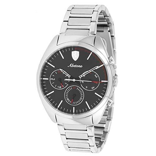 フェラーリ 腕時計 メンズ Ferrari Men's 0830505 Abetone Analog Display Quartz Silver Watchフェラーリ 腕時計 メンズ