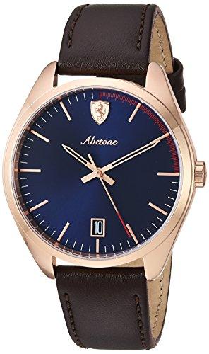 フェラーリ 腕時計 メンズ 【送料無料】Ferrari Men's 0830500 Abetone Analog Display Quartz Brown Watchフェラーリ 腕時計 メンズ