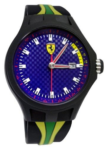 フェラーリ 腕時計 メンズ Ferrari Men's 830071 Analog Display Japanese Quartz Black Watchフェラーリ 腕時計 メンズ