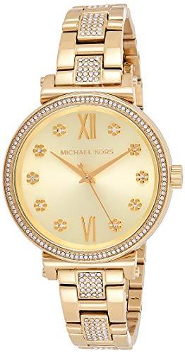 マイケルコース 腕時計 レディース マイケル・コース アメリカ直輸入 Michael Kors Women's Sofie Quartz Stainless-Steel Strap, Gold, 14 Casual Watch (Model: MK3881)マイケルコース 腕時計 レディース マイケル・コース アメリカ直輸入