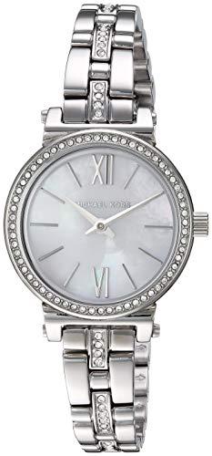 マイケルコース 腕時計 レディース 母の日特集 マイケル・コース 【送料無料】Michael Kors Women's Sofie Quartz Stainless-Steel Strap, Silver, 9.5 Casual Watch (Model: MK3906)マイケルコース 腕時計 レディース 母の日特集 マイケル・コース