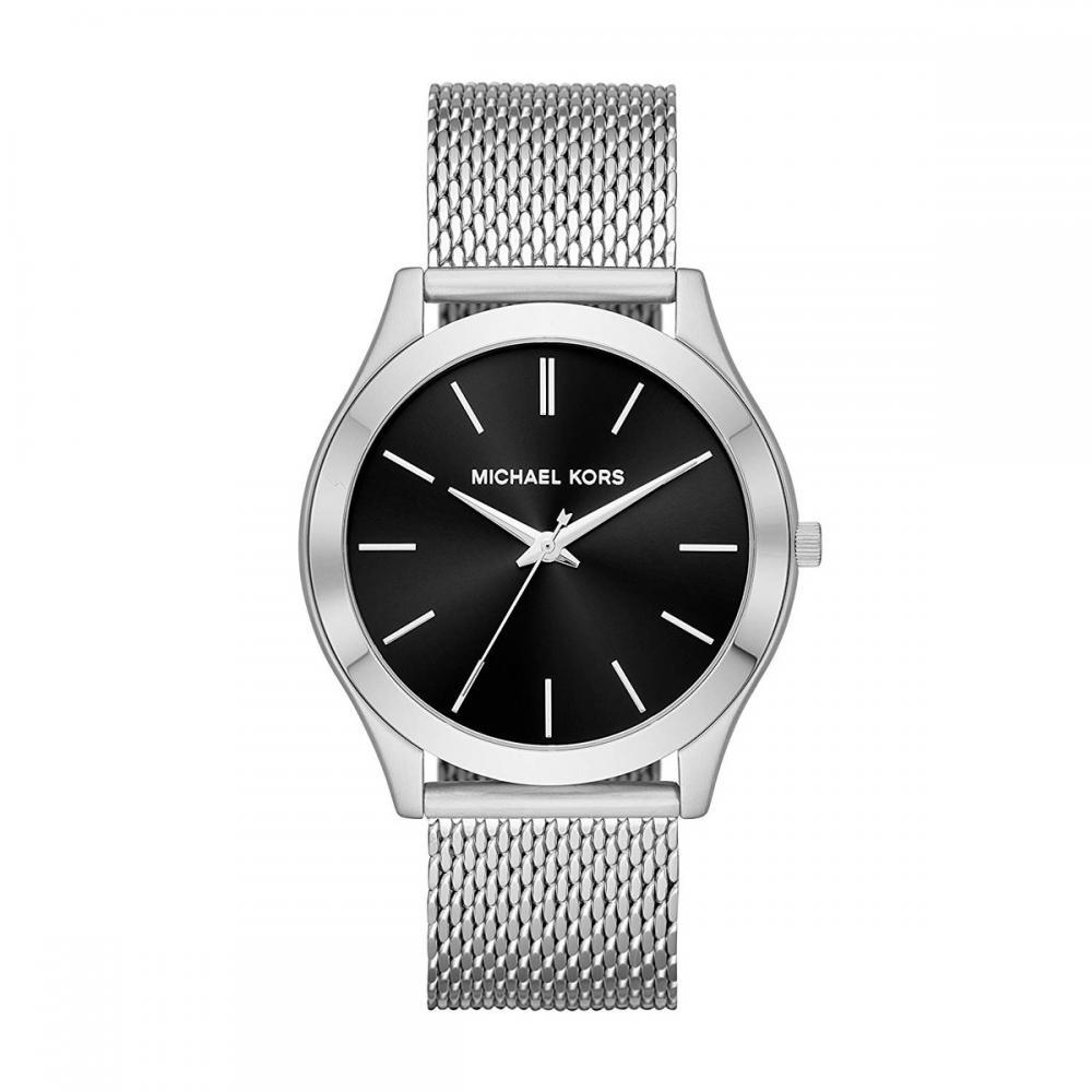 マイケルコース 腕時計 メンズ マイケル・コース アメリカ直輸入 Michael Kors Men's Slim Runway Analog-Quartz Watch with Stainless-Steel Strap, Silver, 22 (Model: MK8606)マイケルコース 腕時計 メンズ マイケル・コース アメリカ直輸入