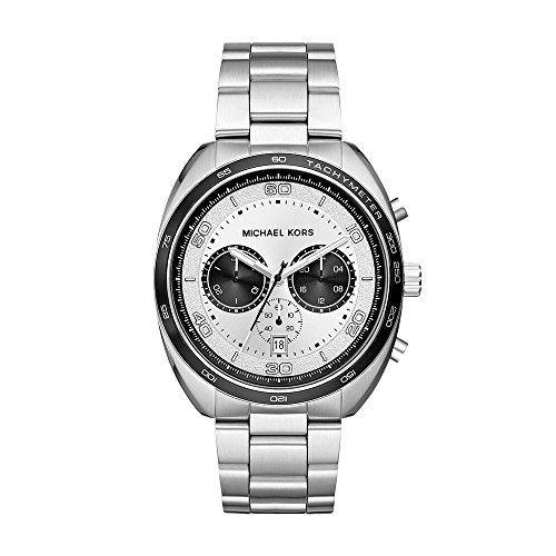 マイケルコース 腕時計 メンズ マイケル・コース アメリカ直輸入 【送料無料】Michael Kors Men's Dane Quartz Stainless-Steel Strap, Silver, 22 Casual Watch (Model: MK8613)マイケルコース 腕時計 メンズ マイケル・コース アメリカ直輸入