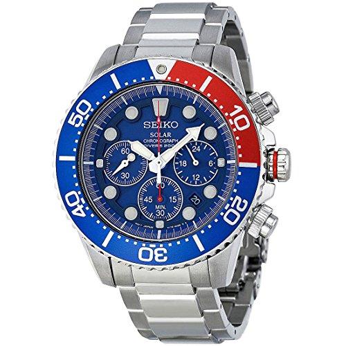 セイコー 腕時計 メンズ SSC019 【送料無料】Seiko Men's SSC019 Solar Diver Chronograph Watchセイコー 腕時計 メンズ SSC019