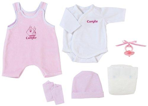 経典ブランド コロール 赤ちゃん ベビー人形 人形 Layette ベビー人形 R9964 Corolle Fashions 14-Inch Setコロール Pink Layette Setコロール 赤ちゃん 人形 ベビー人形 R9964, スエマチ:0a70967f --- canoncity.azurewebsites.net