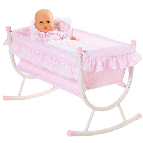 コロール 赤ちゃん 人形 ベビー人形 T2820 【送料無料】Corolle 【送料無料】Corolle 【送料無料】Corolle Les Classiques Nursery Cradleコロール 赤ちゃん 人形 ベビー人形 T2820 c99