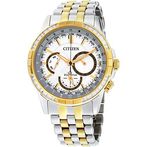 シチズン 逆輸入 海外モデル 海外限定 アメリカ直輸入 【送料無料】Citizen Calendrier Eco-Drive Silver Dial Men's Watch BU2084-51Aシチズン 逆輸入 海外モデル 海外限定 アメリカ直輸入