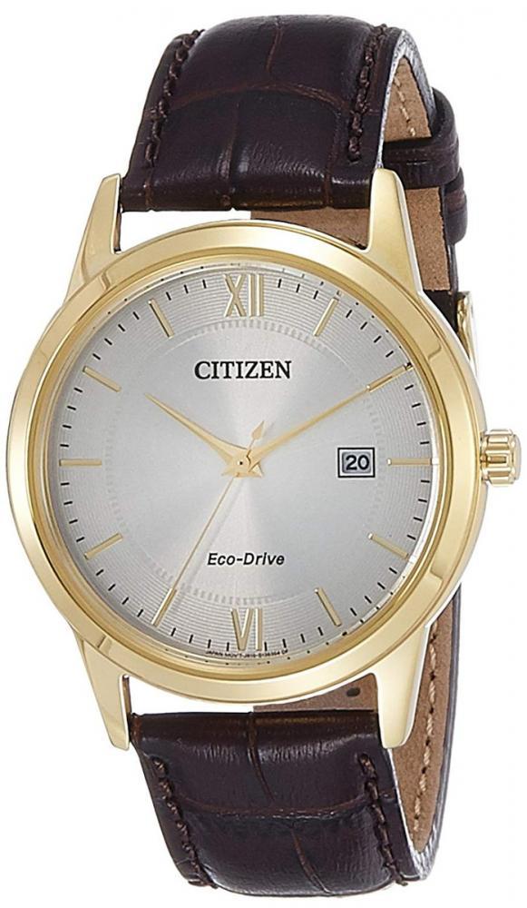 シチズン 逆輸入 海外モデル 海外限定 アメリカ直輸入 Citizen Men's Eco-Drive AW1232-12A Brown Leather Dress Watchシチズン 逆輸入 海外モデル 海外限定 アメリカ直輸入