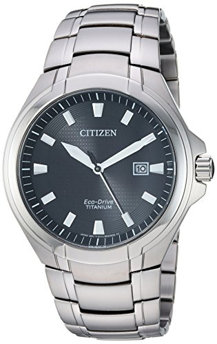 シチズン 逆輸入 海外モデル 海外限定 アメリカ直輸入 Citizen Men's Eco-Drive Quartz Titanium Strap, Silver, 25.5 Casual Watch (Model: BM7431-51Eシチズン 逆輸入 海外モデル 海外限定 アメリカ直輸入