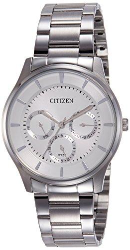 シチズン 逆輸入 海外モデル 海外限定 アメリカ直輸入 Citizen Multifunction Quartz Movement White Dial Unisex Watch AG8351-51Aシチズン 逆輸入 海外モデル 海外限定 アメリカ直輸入