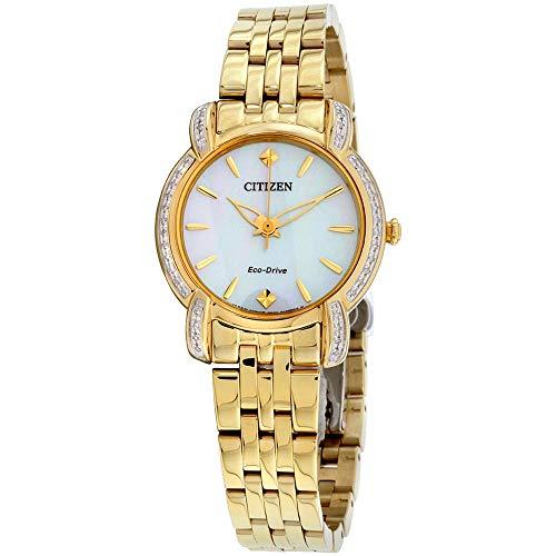 シチズン 逆輸入 海外モデル 海外限定 アメリカ直輸入 【送料無料】Citizen Watches EM0692-54D Jolie Gold Tone One Sizeシチズン 逆輸入 海外モデル 海外限定 アメリカ直輸入