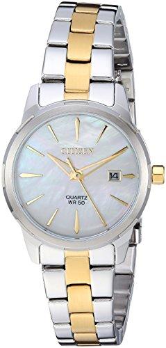 シチズン 逆輸入 海外モデル 海外限定 アメリカ直輸入 Citizen Women's ' Quartz Stainless Steel Casual Watch, Color:Two Tone (Model: EU6074-51D)シチズン 逆輸入 海外モデル 海外限定 アメリカ直輸入