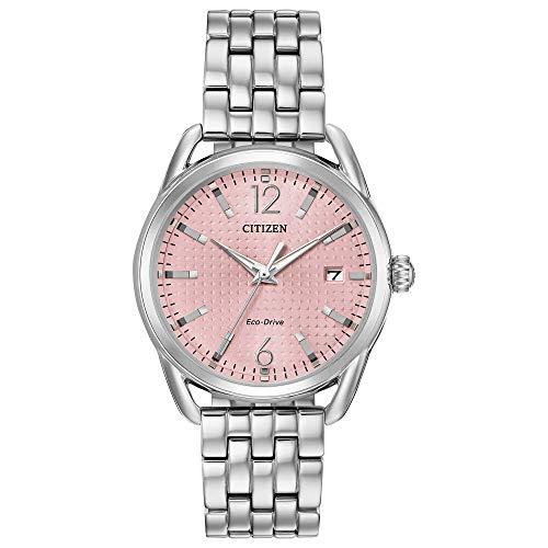 シチズン 逆輸入 海外モデル 海外限定 アメリカ直輸入 【送料無料】Citizen Women's Drive Quartz Watch with Stainless Steel Strap, Silver, 16.5 (Model: FE6080-71X)シチズン 逆輸入 海外モデル 海外限定 アメリカ直輸入