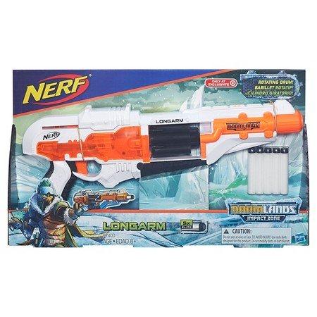 ナーフ DOOMLANDS アメリカ 直輸入 ダーツ Nerf Doomlands Impact Zone Longarm Blasterナーフ DOOMLANDS アメリカ 直輸入 ダーツ